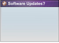 Software Updates?