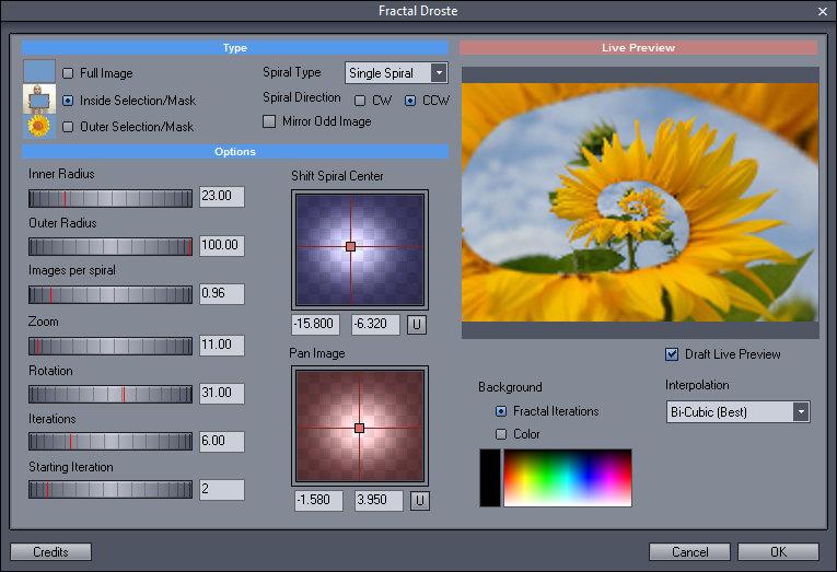 Photo-Brush screenshot
